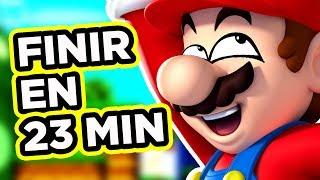 NEW SUPER MARIO BROS FINI EN 23 MINUTES !
