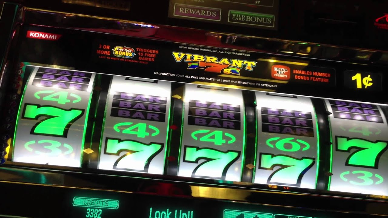 how to win in vibrant 7 slot machine