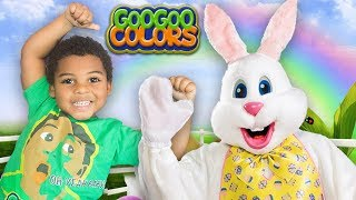 EASTER BUNNY WHERE ARE YOU SONG? Goo Goo Gaga Plays Hide N Seek with Family