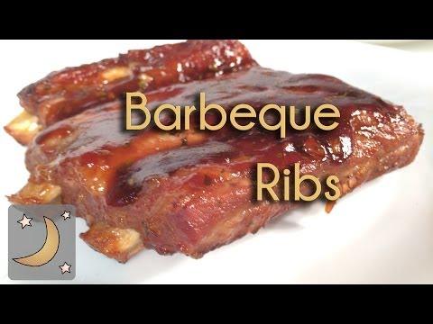 Como hacer Barbecue Ribs - Receta de Costillas de cerdo BBQ barbacoa al horno!
