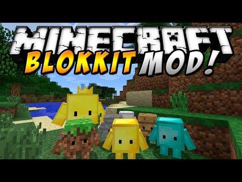 Minecraft - Blokkit MOD (Comanda tu ejército. lucha contra el mal. etc!) - ESPAÑOL TUTORIAL