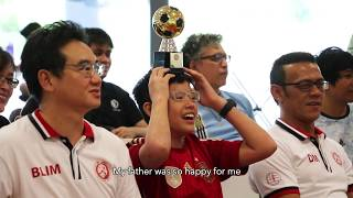 [Profile Feature] Table Football - Isaac Lim