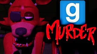 THE FOX SCARE - Gmod Murder (Garry's Mod)
