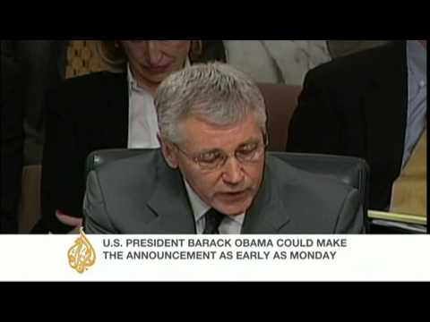 Barack Obama, the US president, is set to nominate former Republican Senator Chuck Hagel as his next defence secretary, a senior administration official has ...