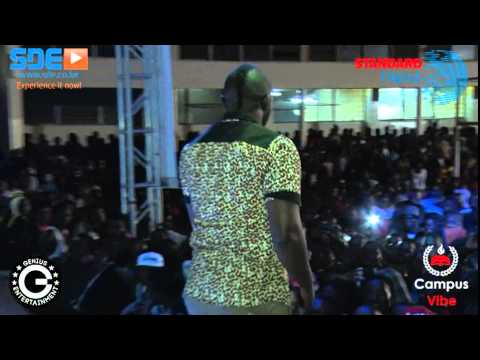 How Pitson Performed Kilele at The Standard Digital Campus Tour