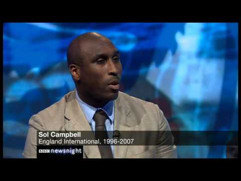 NEWSNIGHT: Sol Campbell talks about being a victim of racism
