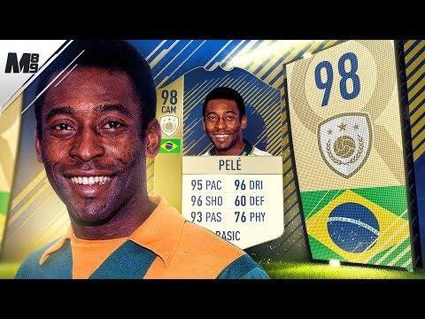 FIFA 18 PRIME PELE REVIEW | 98 PRIME PELE PLAYER REVIEW | FIFA 18 ULTIMATE TEAM