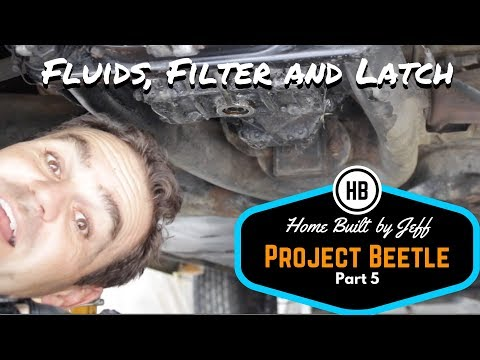 Oil Service & Filter Relocation - Project Beetle