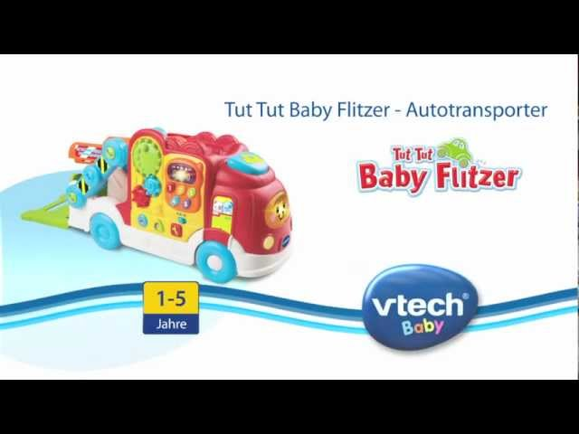 vtech tut tut baby flitzer autotransporter 136604 ab. Black Bedroom Furniture Sets. Home Design Ideas