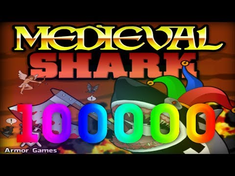 [FLASH ИГРА] MEDIEVAL SHARK - БЕЗУМИЕ