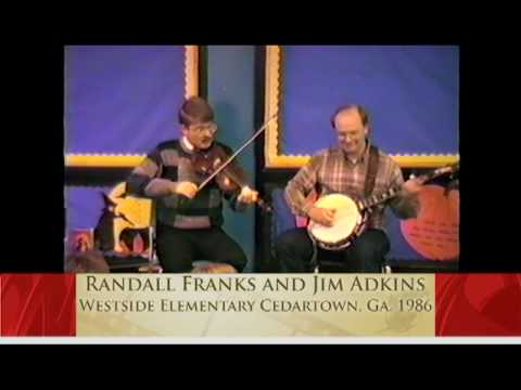 Folk Music -- Fire on the Mountain - Randall Franks & Jim Duck Adkins.mpg