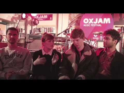 Theme Park interview at Oxjam Music Festival 2012