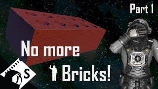 Space Engineers Tutorial: Large Ship Design Part 1 (Survival design tutorial series)