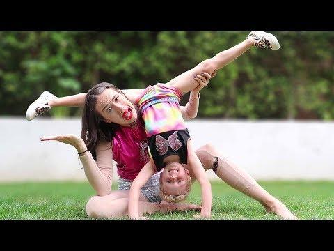 PART TWO: Miranda Sings Gymnastics Lesson w/ Parker
