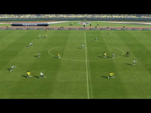 PES 2013 -Brasil vs Argentina- Relatos Latinos (HD)