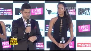 MTV India's Next Top Model Season 2 Launch - Daboo Ratnani, Neeraj Gaba, Lisa Haydon & Anusha