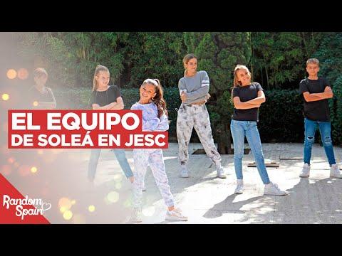 El Equipo de Soleá para Eurovision Junior 2020