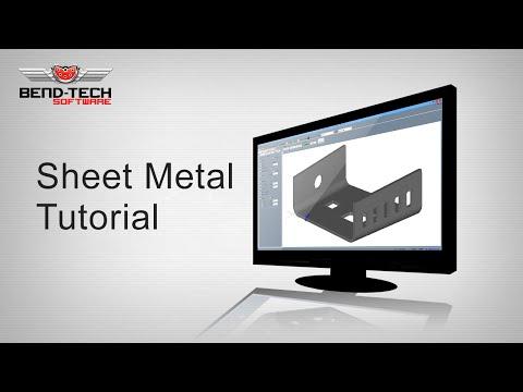 Bend-Tech 7x Sheet Metal/Plate Tutorial