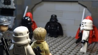 Darth Vader runs into young Anakin (humor Lego film) view on break.com tube online.