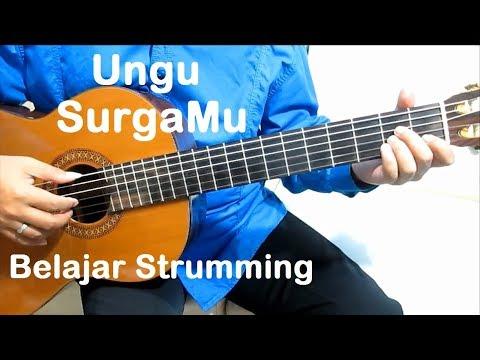 (Genjrengan) Ungu SurgaMu - Belajar Gitar Strumming Untuk Pemula