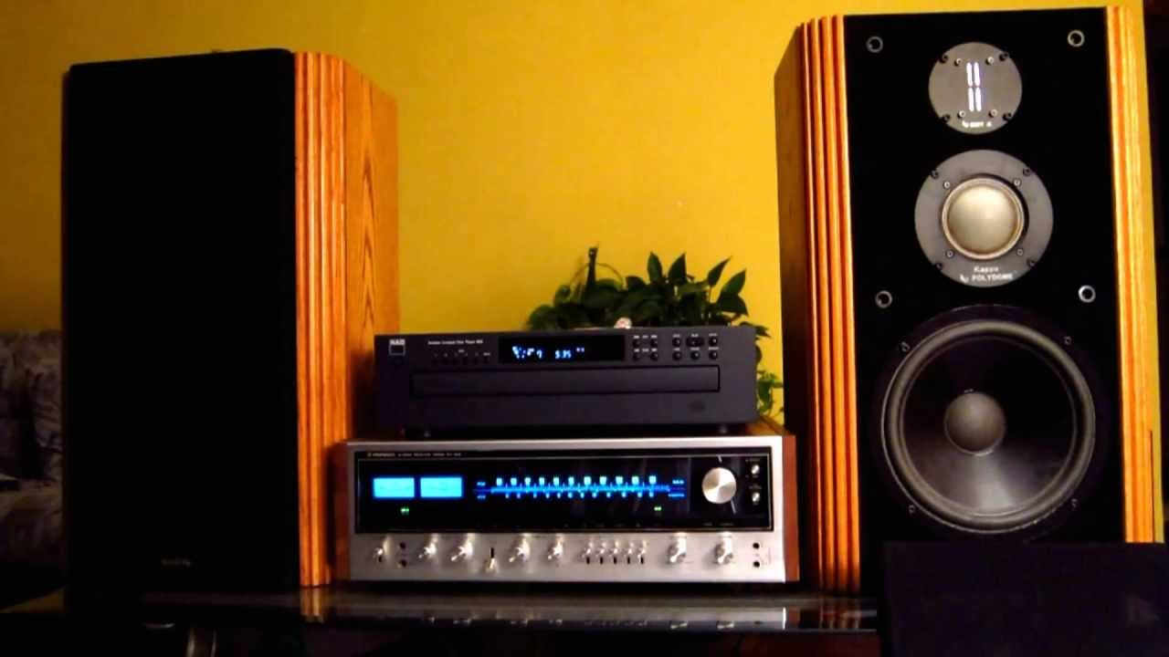 Infinity Kappa 6 Vintage Studio Home Speakers Youtube