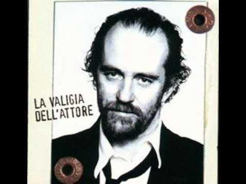 Francesco De Gregori - Atlantide   (live la valigia dell'attore 1997)