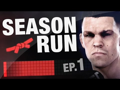 EA Sports UFC - Season RUN #1 - Nate Diaz Online Ranked Gameplay Commentary