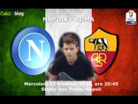 NAPOLI - ROMA 3-0| ESALTATI OVUNQUE!