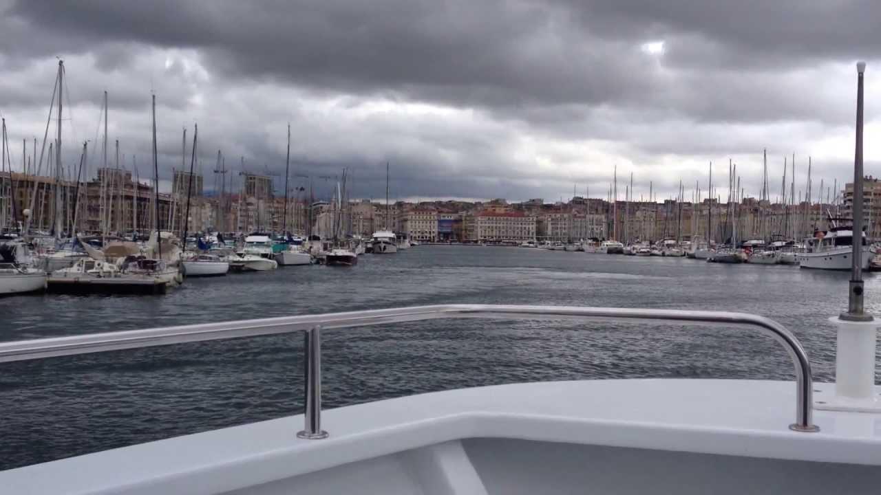 Retour au vieux port de marseille en bateau navette de l - Navette aeroport marseille vieux port ...