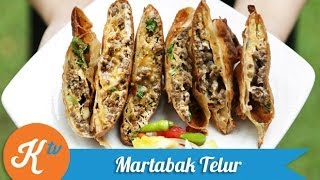 Resep Martabak Telur (Martabak Telur Recipe Video) | MELATI PUTRI