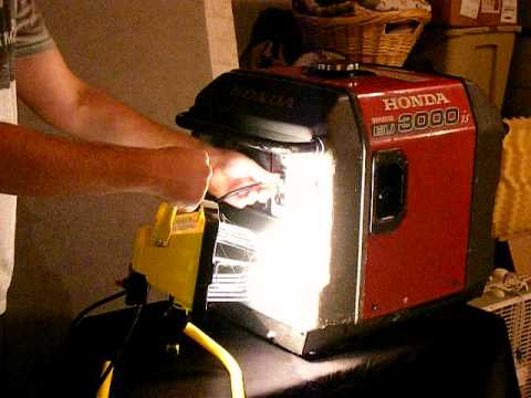Honda EU3000is Super Quiet Generator