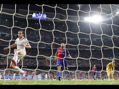 Real Madrid Vs Basilea - goles en la campeón de Europa
