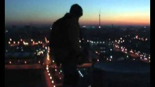 Night B.A.S.E. jump in Moscow