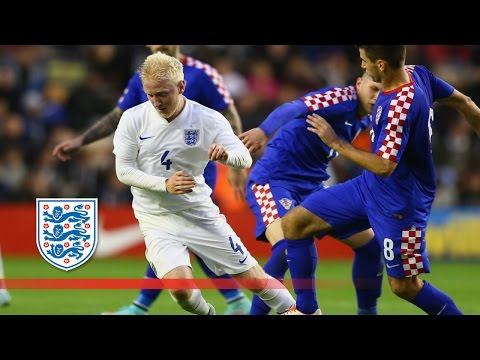 England U21s 2-1 Croatia | Goals & Highlights