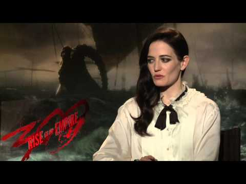 300: Rise of an Empire: Eva Green Official Movie Interview