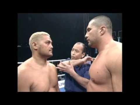 Mark Hunt vs. Jerome Le Banner (K-1 WGP 2001 Quarter Final)