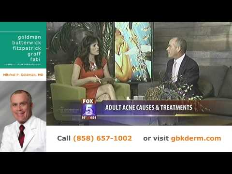 Treating Adult Acne | San Diego Cosmetic Dermatologist Dr. Goldman