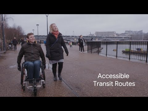 Google Maps now has routes for wheelchair users