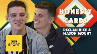 'They stuck my trainers to the floor' - Best mates Mason Mount & Declan Rice on 'prank wars'
