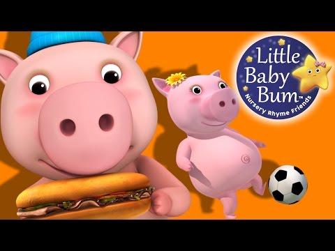 This Little Piggy | Nursery Rhymes | by LittleBabyBum!