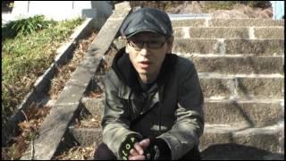 遠藤ミチロウさん 南相馬市 小高神社へ