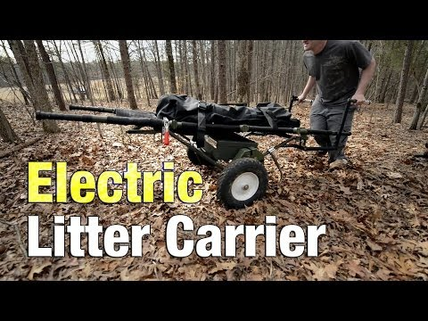 With the Gear — Breaking Barriers With the Electric Litter Carrier