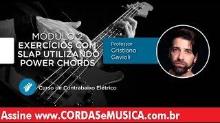 download musica Contrabaixo - Exercícios com Slap Utilizando Power Chords - Cordas e Música