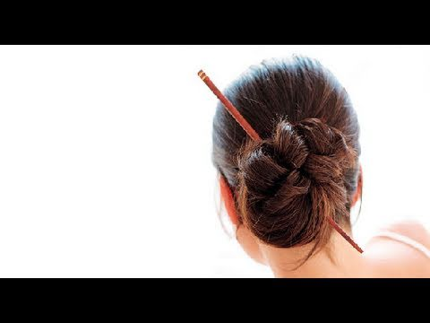 Short Hair Chopsticks Youtube