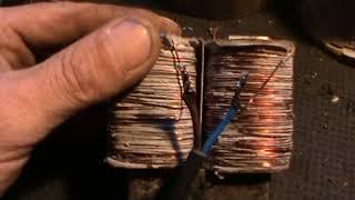Ремонт катушек вибрационного насоса своими руками 30