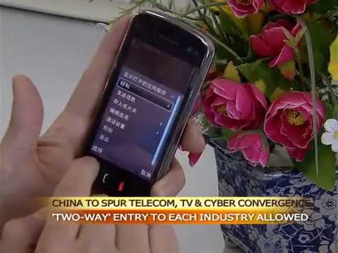 China to spur telecom-TV-cyber convergence, beef up cyber security