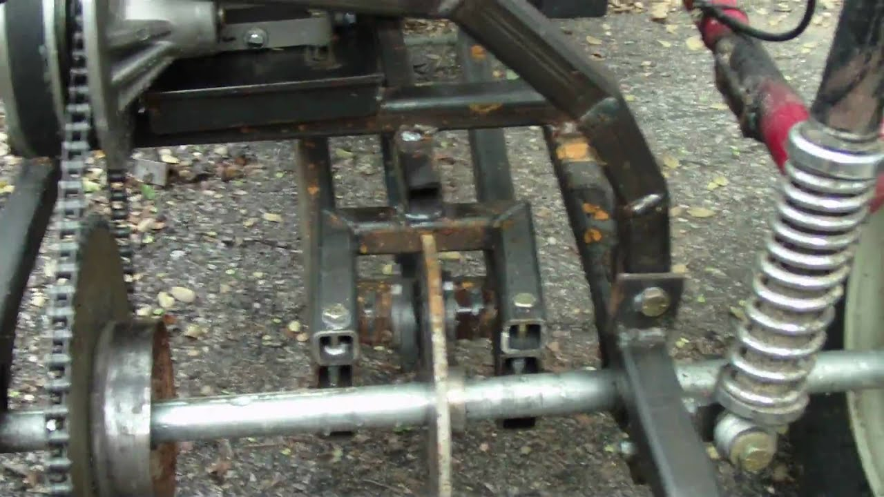 A Look At The Home Made Brake System On My Go Kart Youtube