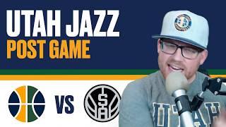 Utah Jazz vs San Antonio Spurs Post Game Reaction - Are the Utah Jazz back?