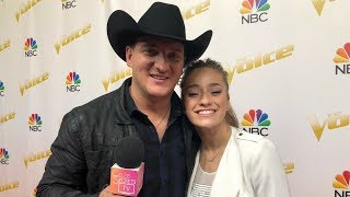 Download Lagu THE VOICE SEASON 14: Top 11 Backstage Interview with Brynn Cartelli & Kaleb Lee - TEAM KELLY Gratis STAFABAND