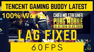 How to Fix LAG in Tencent Gaming Buddy : Latest Update With GamePlay